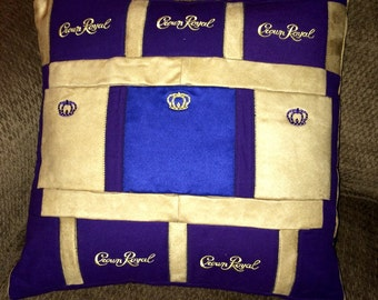 Made to Order Crown Royal pillow cover
