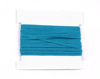 Elastic, 1/8th inch flat elastic for DIY Making Baby Headbands, skinny elastic - 5, 10, or 20 yard bundles - JADE