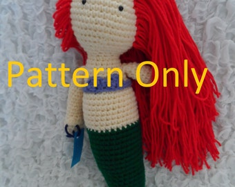 Mermaid Crochet Amigurumi Pattern