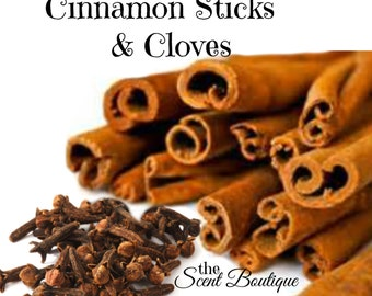 Premium Fragrance Oil Strong Incense Sticks Hand Dipped Hand Made Stick Incense Cinnamon and Cloves  20 sticks