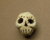 50% OFF Little skull  bead detailed porcelain