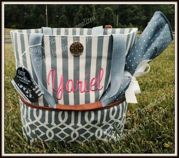 mud pie big bundle diaper bag personalized by ragcrazy on etsy. Black Bedroom Furniture Sets. Home Design Ideas