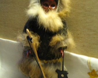 Carlson Eskimo doll