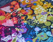 Ex Libris - Art Theory in Charcoal - A-7864-C - Alison Glass for Andover Fabrics - 1/2 Yard (Panel)