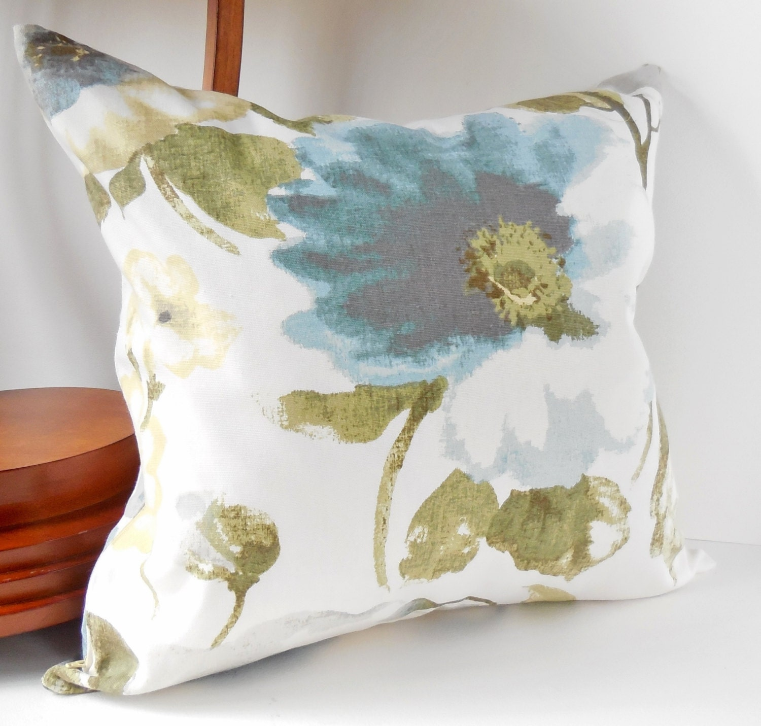 Pillows Decorative Throw Pillows Large Blue Beige and Gray