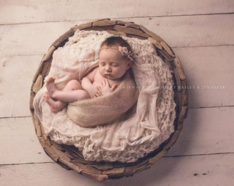 Driftwood Bowl Prop, Newborn Photo Prop, Basket Prop, Photography Prop, Bowl Prop, Organic Prop