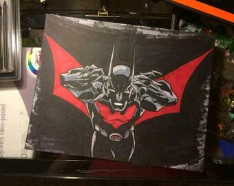 Batman Beyond - Fan Art Includes Frame
