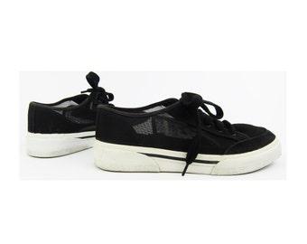 SALE % Canvas x Mesh Classic Vintage Sneakers