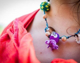 Nursing necklace Teething Necklace Sea Baby toy Sea Theme