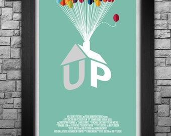 """UP inspired limited edition 11x17"""" art print"""