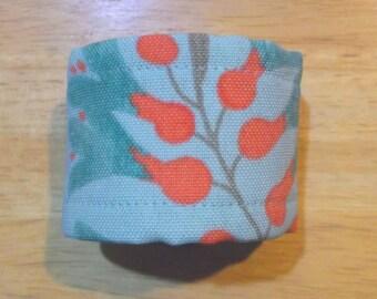 Fabric Cuff Bracelet - canvas print