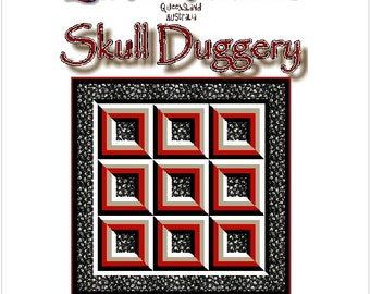 SKULL DUGGERY - Quilt-Addicts Patchwork Quilt Pattern