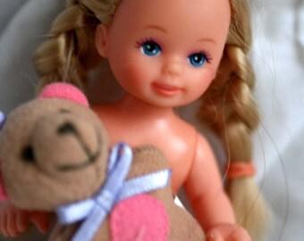 Vintage Simba Brand Doll, Kelly Doll, Barbie's Little Sister, Vintage Dolls.