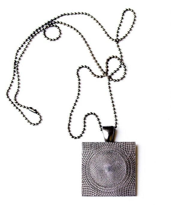 techie necklace circuit board necklace geeky square