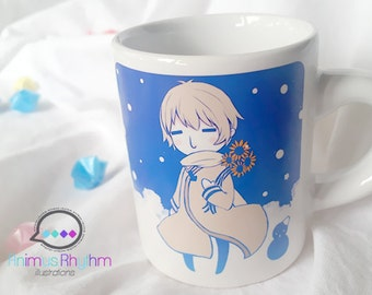 Mini Ceramic Mug: Hetalia Russia anime cup APH