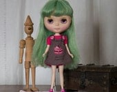 Dress whit pink shirt for Blythe