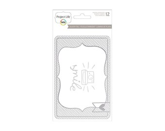 Project Life Silver Foil Overlays -- Becky Higgins