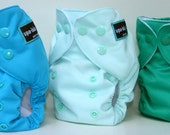 UPA-LALA  Premium Hemp-Cotton Cloth Pocket Diaper - Baby Boy 3-Pack