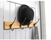 Reclaimed Wood Top Hat And Coat Hook