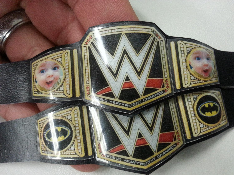Design Your Own Wwe Championship Belt Online