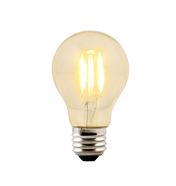 LED A19 / A60 Victorian Classic Style Bulb Medium Base E26 - Replacement for Urban Chandy incandescent bulb