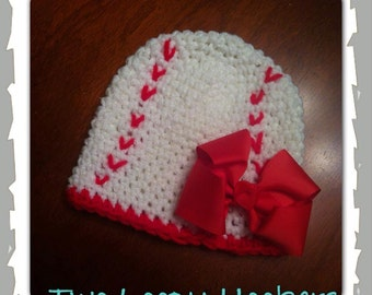 Baseball Hat with bow