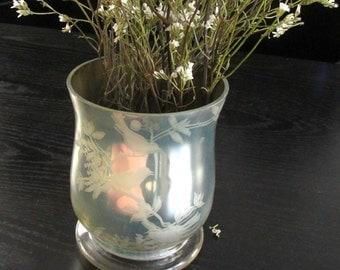 Mercury Glass Vintage Vase