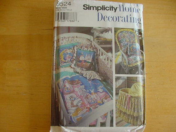 Vintage 1990s simplicity home decorating by grannigertsattic Home decor 1990s