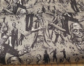 Zombie - Alexander Henry Fabric 1 Yard