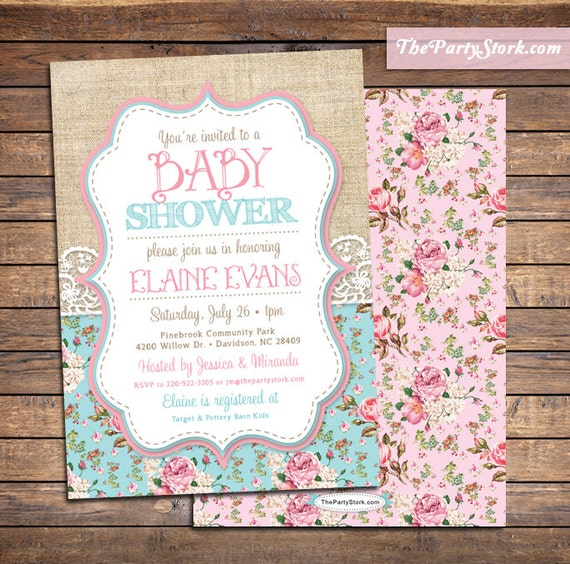Green Baby Shower Invitations as best invitations design