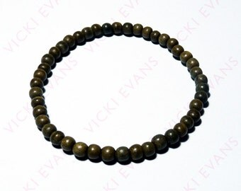 Men's Greywood Bead Bracelet 5mm