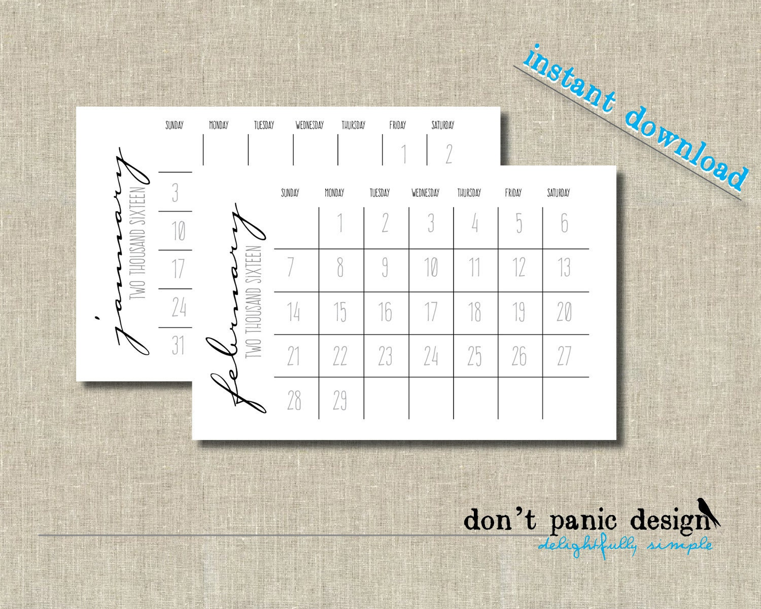 """Search Results for """"2015 Printable Half Page 12 Month Calendar ..."""