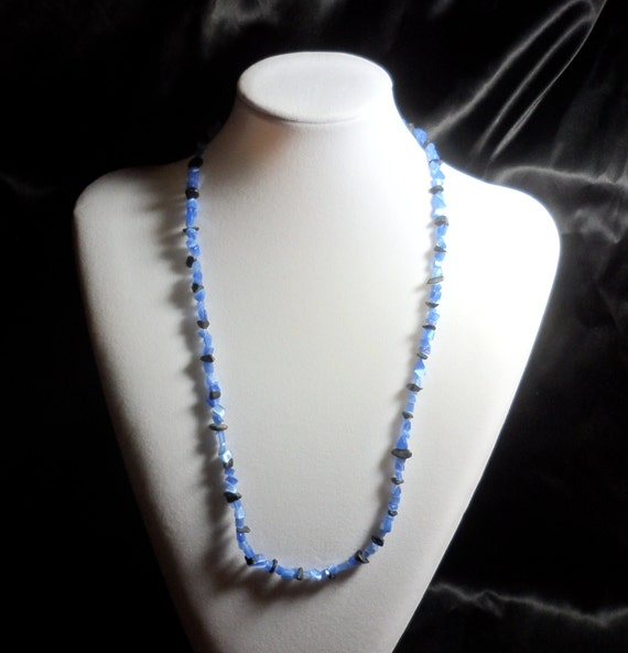 Black and blue necklace for Black and blue jewelry cross necklace