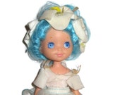 Rose Petal Place blue hair Lily Fair ballet 1980s doll clothing 80s toys