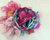 Baby Headband- Girls 1st Birthday- Little Girls Headband- Hair Bow-Headband- Couture Headband- Photo Prop