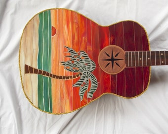 SUMMER BREEZE Mosaic Guitar