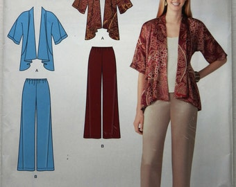 Simplicity Sewing Pattern 2119 / Drape Jacket and Pants