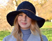 Crochet Pattern Hat Floppy Brimmed Victoria Hat Quick and Simple Crochet Pattern for hat Digital File PDF Instant Delivery