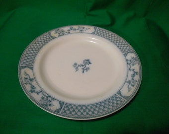 """One (1) 10"""" Dinner Plate, from Johnson Bros., in: """"The Exeter"""" Pattern."""