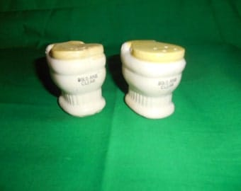 One (1), Pair of Salt & Pepper Shakers in the Shape of Commodes