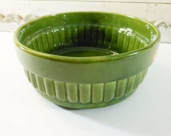 Green Haeger Pottery Planter Bowl Number 158