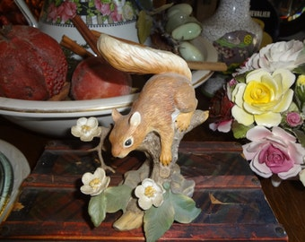 LENOX Red Squirrel 1989 Springtime Scamper