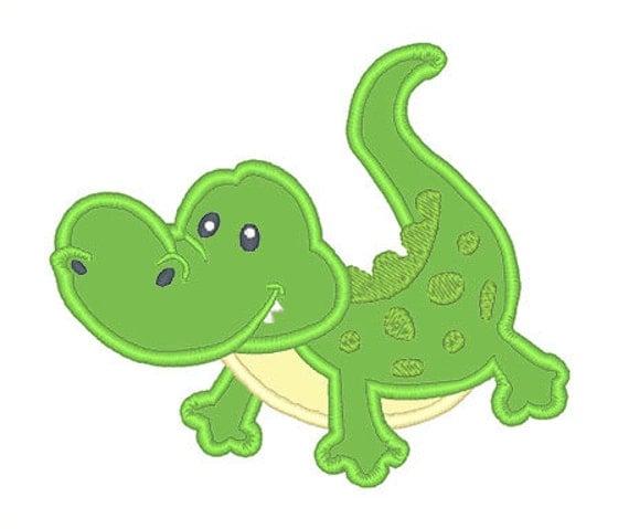Alligator Gator Embroidery Design  |Alligator Design Embroidery Floss