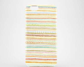 Pencil Doodles mobile phone case, iPhone 7, iPhone 7 Plus, iPhone SE, iPhone 6S, iPhone 6, iPhone 5S, iPhone 5, doodle phone case  / yellow