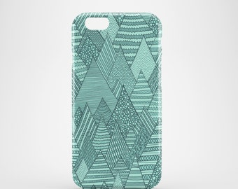 Forest mobile phone case, iPhone 7, iPhone 7 Plus, iPhone SE, iPhone 6S, iPhone 6, iPhone 5S, iPhone 5, green iPhone 7 case