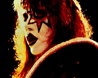 KISS Alive II - Ace Frehley Stand-Up Display - KISS Band Collectibles Memorabilia Posters Army Kit Buttons Aucoin Retro Gift Idea kiss76