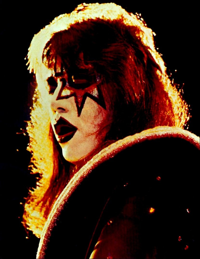 kiss alive ii ace frehley stand up display kiss band. Black Bedroom Furniture Sets. Home Design Ideas