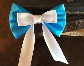 Belle inspired hair bow