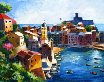Note Cards / Box of 8 / Cinque Terre Italy