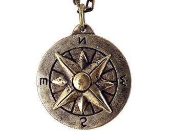 Compass - brass